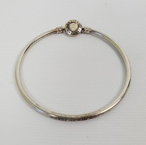 """Pandora Bangle Engraved """"You are so loved"""""""